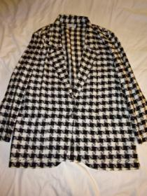 1980~90's Design Check Tailored Jacket