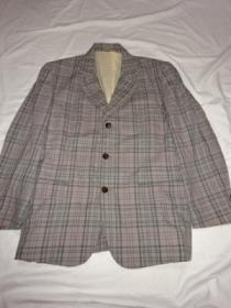 1990's Design Check Tailored Jacket