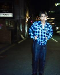 JOHN MASON SMITH 19SS ・WESTERN SHIRTS P/O CHECK