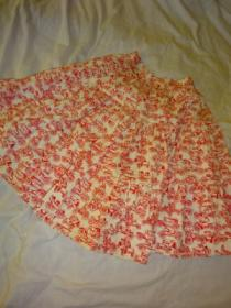 1960's Cotton Gather Skirt