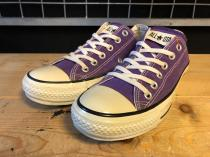 converse ALL STAR COLORS CLASSIC OX (パープル) USED