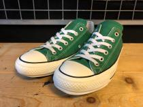 converse ALL STAR 100 COLORS OX (グリーン) USED