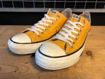 converse ALL STAR OX (イエロー) USED