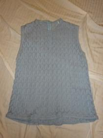 1960~70's No Sleeve Lace Knit Tops