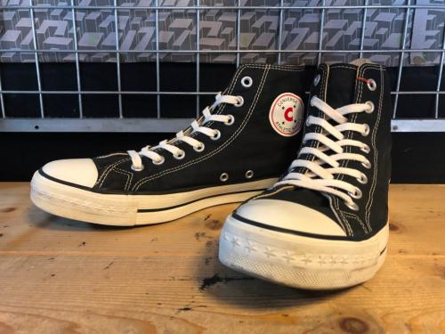 converse ATHLETIC-C HI (ブラック) USED写真