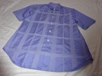 Stitched Design Short Sleeve Shirt