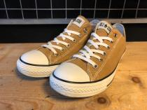 converse ALL STAR LP WASHOUT SLIP OX (ブラウン) USED