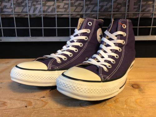 converse ALL STAR COLORS HI (クラシックパープル) USED写真