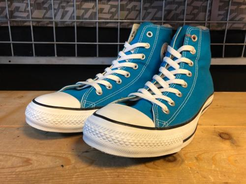 converse ALL STAR COLORS HI (ライトブルー) USED写真