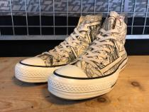 converse ALL STAR RETRO DORAEMON HI (ナチュラル) USED