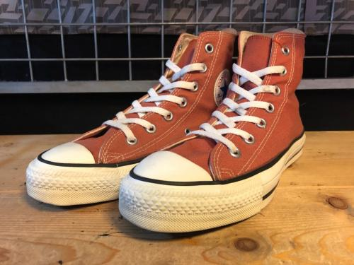 converse ALL STAR HI (ブラウン) USED写真