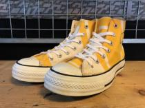 converse×sunbrela ALL STAR EAVES HI (イエロー/ホワイト) USED