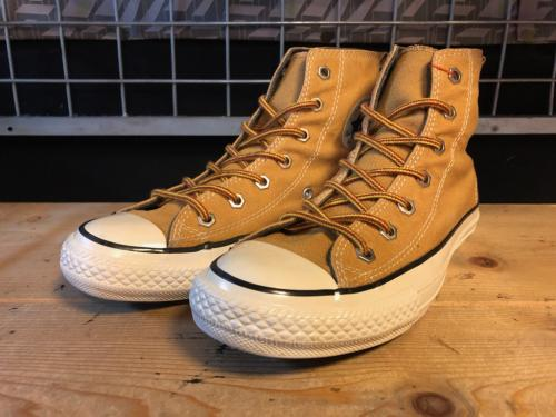 converse ALL STAR CANVAS-BOOTS HI (ウィート) USED写真