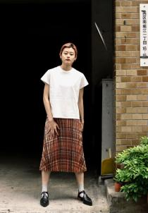 tiit tokyo 2019 Spring Summer Collection  metal skirt