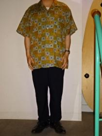 1980~90's Design Open Collar Shirt