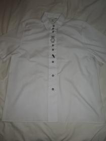 1990's Euro Embroidery Short Sleeve Shirt