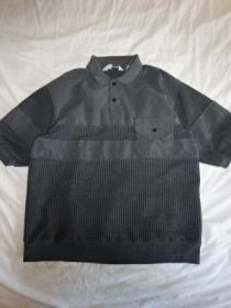 1980~90's Switched Design Polo Shirt