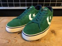 converse CONS PRO LEATHER OX (グリーン) USED