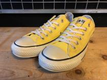 converse ALL STAR COLORS CLASSIC OX (イエロー) USED
