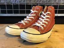 converse ALL STAR COLORS CLASSIC HI (ブリック) USED