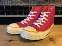 converse ALL STAR HI (ピンク/オレンジ) USED