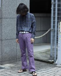 LITTLEBIG 19AW New Arrival ・Checked SH(YEL or PPL)