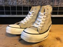 converse ALL STAR HI (グレー) USED