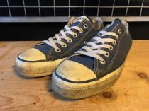 converse ALL STAR OX (ネイビー) USED