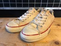 converse ALL STAR OX (ホワイト) USED