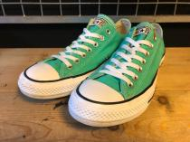 converse ALL STAR OX (エメラルドグリーン) USED