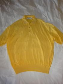 1990's Short Sleeve Summer Knit Polo Shirt