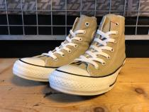 converse ALL STAR COLORS HI (ベージュ) USED