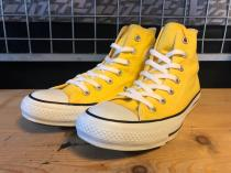converse ALL STAR COLORS R HI (イエロー) USED