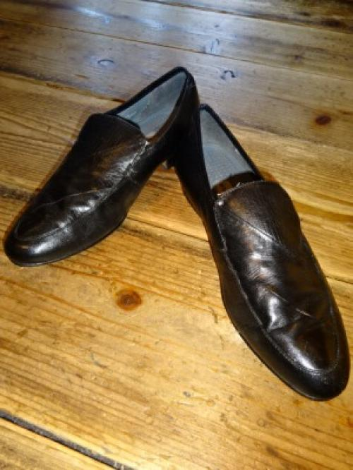 "Design Leather Vamp Loafers ""STACY ADAMS""写真"