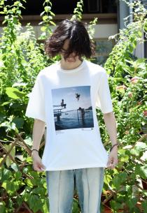 JOHN MASON SMITH  2019 Autumn Winter ・Mike O'Meally SHORT SLEEVE T-SHIRT(THREAD THE NEEDLE)