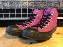 converse ALL STAR PIT HI (パープル) USED
