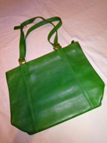Design Leather Tote Bag