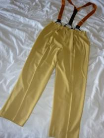 1980's Tuck Suspender Pants