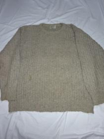 1980's Loose Silhouette Cotton Sweater