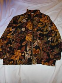 1990's Print Zip-Up Jacket