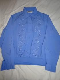1980's Embroidery Pullover Blouse