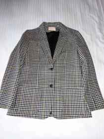 1970's Wool Check Tailored Jacket