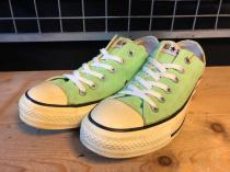 converse ALL STAR OX (ネオングリーン) USED