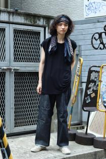 SUGARHILL 19-20AW ・SELVAGE CONSTRUCTED DENIM PANTS