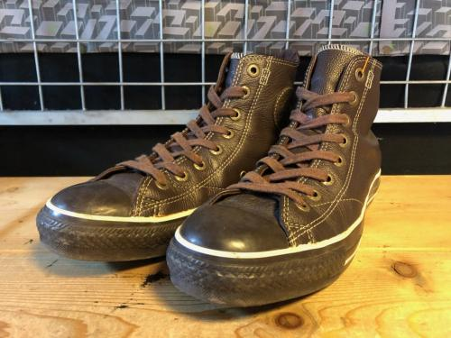 converse ALL STAR EUROPEAN HI (エスプレッソ) USED写真