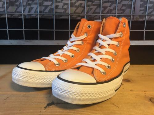 converse ALL STAR HI (オレンジ) USED写真