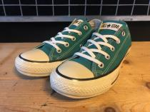 converse ALL STAR COLORS CLASSIC OX (ターコイズ) USED