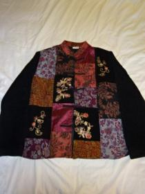 Embroidery Patchwork Design China Jacket
