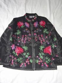 Embroidery China Shirt Jacket