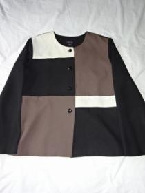 1990's Switched Design No Collar Jacket
